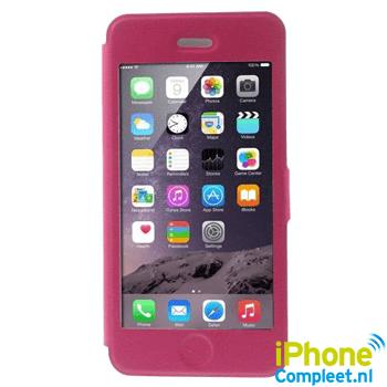 Window view case voor iPhone 6/6S Plus – Roze