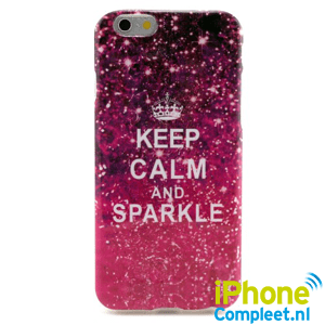 iPhone 6/6S TPU hoesje: Keep calm