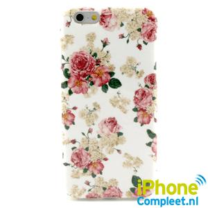iPhone 6/6S TPU hoesje: bloemen