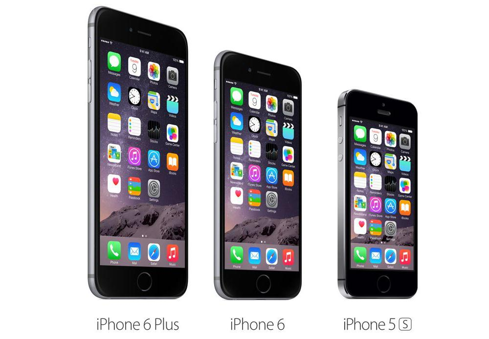 In detail: iPhone 5S, iPhone 6 en iPhone 6+