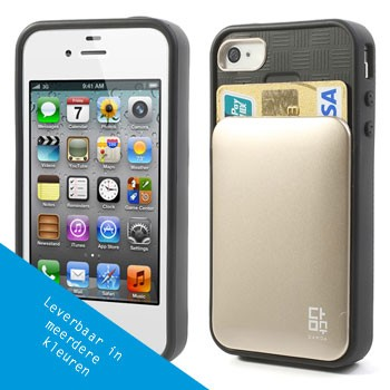 iPhone 4/4S Hoesje met insteek voor pasjes
