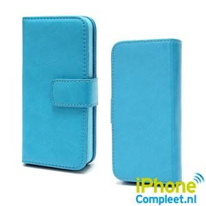 iPhone 5[S] Wallet case 2-in-1 – Aquablauw