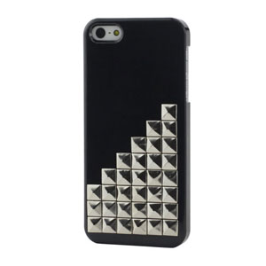 iPhone 5[S] hard case met pyramide studs