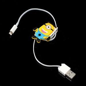 Verschikkelijke ikke – uittrekbare oplaadkabel USB – 8-pins