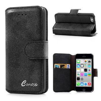 Luxe wallet case voor iPhone 5C