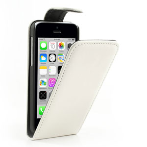 Verticale flip case voor iPhone 5C