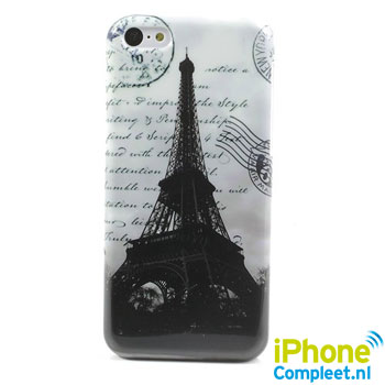 Eiffeltoren hard case voor iPhone 5C