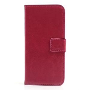 Wallet case voor iPhone 5[S] – Rosé