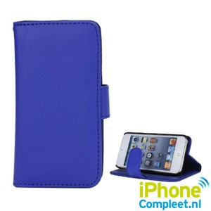 Lederen Book Case voor iPod Touch 5
