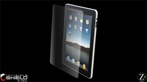 Zagg invisibleSHIELD iPad screen