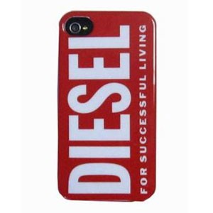 Diesel Hard Case Rood voor Apple iPhone 4/ 4S