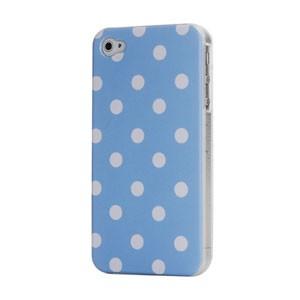 iPhone 4/4S hoesje met witte stippen