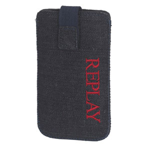 Replay iPhone 4S pouch: Denim Dark Blue