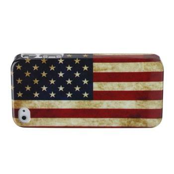 Retro USA vlag hoesje voor iPhone 4[S]