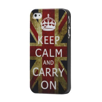 Keep calm hoesje voor iPhone 4[S]