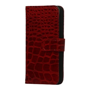 iPhone 5[S] Wallet case krokodil
