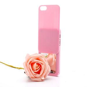 iPhone 5[S] case met uitschuifbare spiegel