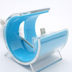 iPhone dock standaard – aquablauw
