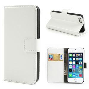 Wallet case voor iPhone 5[S] – Wit
