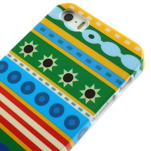 iPhone 5[S] case: gekleurde patronen
