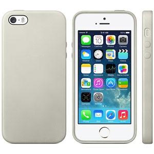 Strak TPU hoesje voor iPhone 5[S] – Grijs
