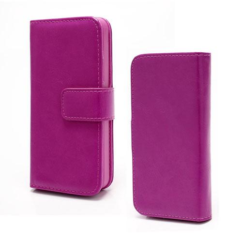 iPhone 5[S] Wallet case 2-in-1 – Paars