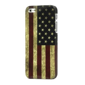 iPhone 5[S] case: Retro Amerikaanse vlag
