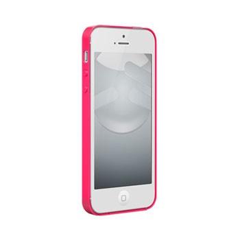 iPhone 5[S] Nude met gloss coating – Fuchsia