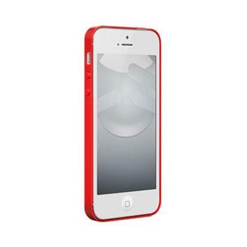 iPhone 5[S] Nude met gloss coating – Rood