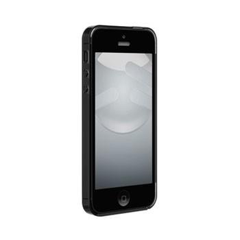iPhone 5[S] Nude met gloss coating – Zwart