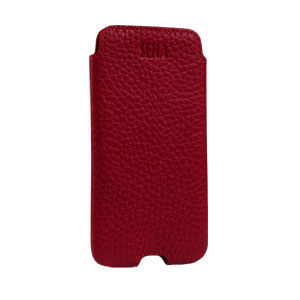iPhone 5[S] Ultraslim Classic leather case – Rood