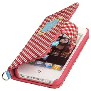 Lief! Folio case Tess voor iPhone 5[S]
