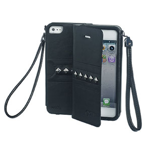 Celly GLAMme iPhone 5[S] case met studs
