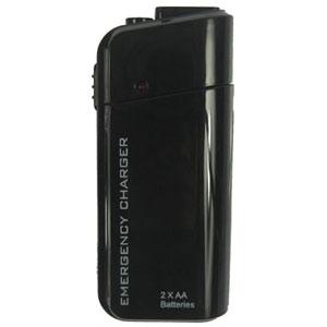 Noodoplader op AA batterijen – zwart