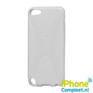 X-shape TPU iPod Touch 5 hoesje – Wit