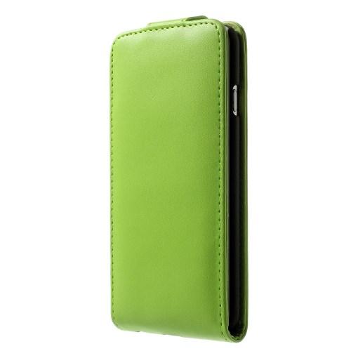 Verticale flip-over case voor iPhone 6/6S – Groen