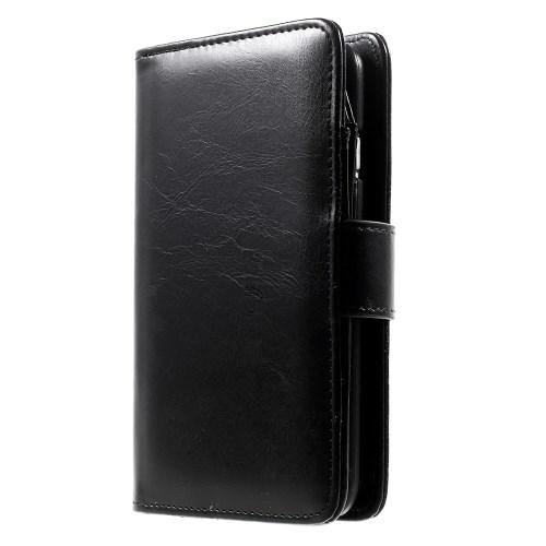 Lederen wallet case voor iPhone 6