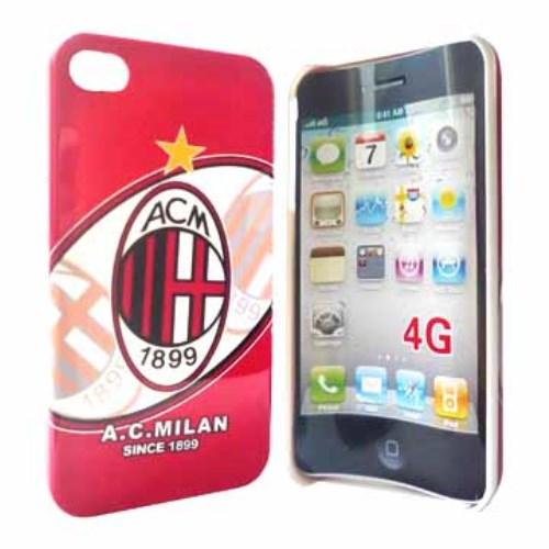 AC Milan voetbalhoesje voor iPhone 4[S]