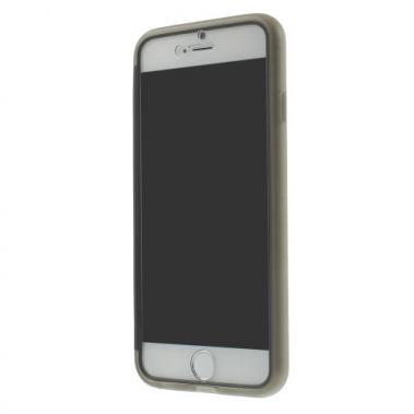 TPU Case plus Screen Cover voor iPhone 6/6S – Grijs