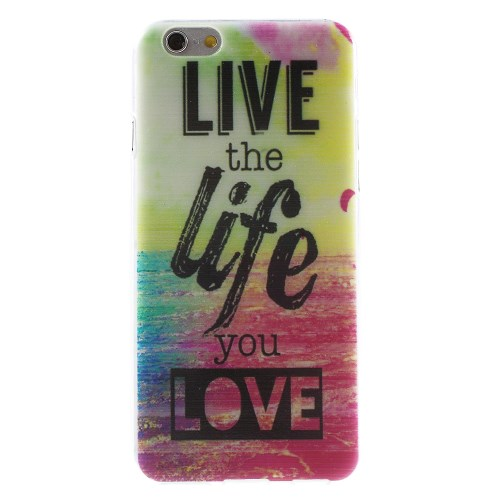 iPhone 6/6S hoesje: Live the life…