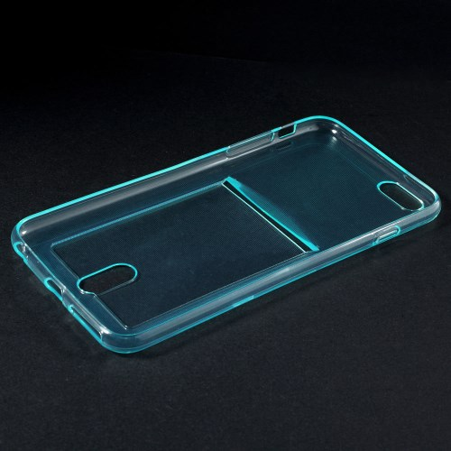 Dun TPU hoesje met pashouder voor iPhone 6/6S
