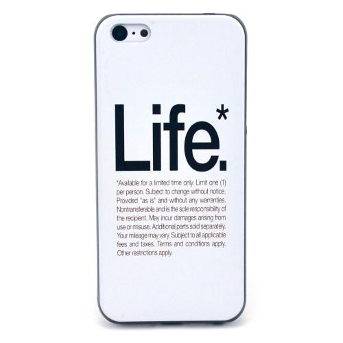 iPhone 5C hoesje: Life