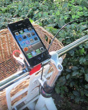 iPhone fietshouder