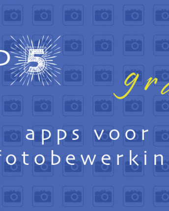 Top 5 gratis iPhone fotobewerkingsapps