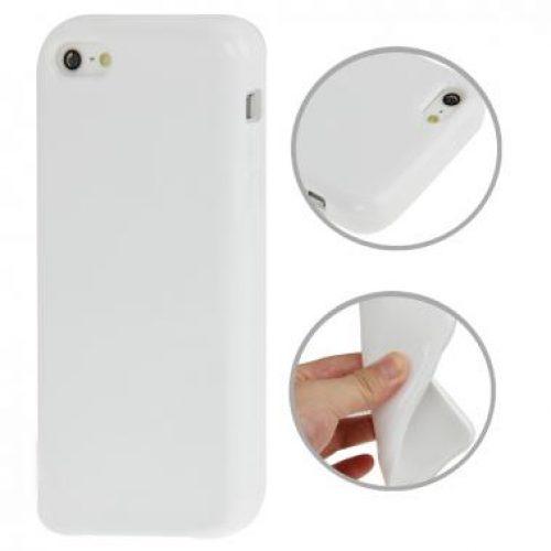 iphone5c-hoesje-tpu-wit