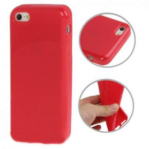 iphone5c-hoesje-tpu-rood