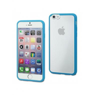 MyFrame Case Blauw/Transparant voor Apple iPhone 6 Plus/6S Plus