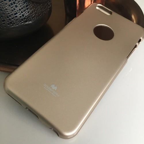 Jelly Case voor iPhone 6/6S – Goud