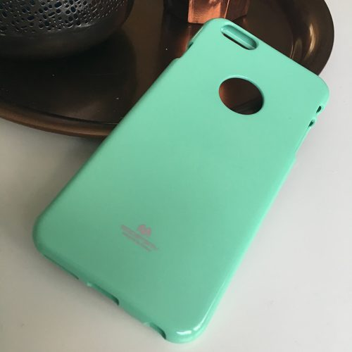 goospery jelly case iphone6 mintgroen