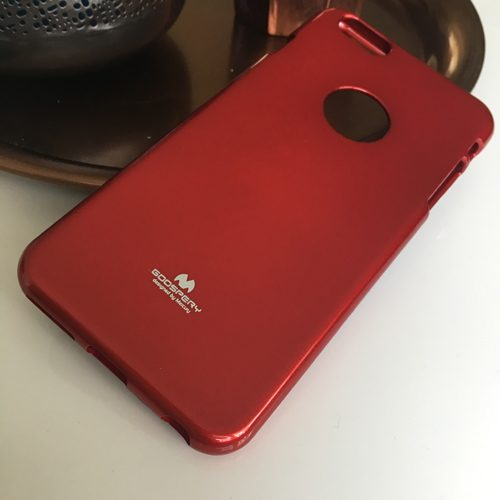 goospery jelly case iphone6 rood